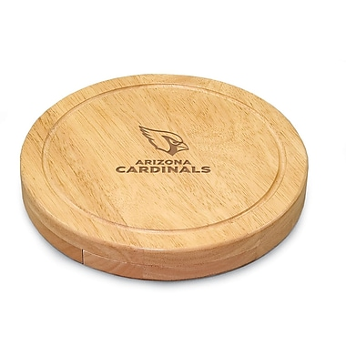 Picnic Time NFL Circo Engraved Cheese Board; Tennessee Titans