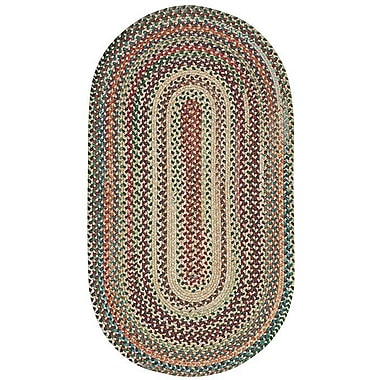 Capel Sherwood Forest Amber Area Rug; Oval 2'3'' x 4'