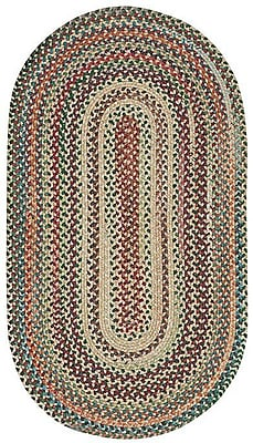 Capel Sherwood Forest Amber Area Rug; Concentric 8' x 11'