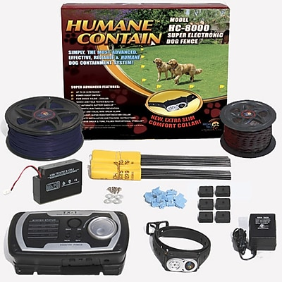 High Tech Pet Extra Value Combo Systems Humane Contain Dog Electric Fence WYF078276094557