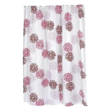Carnation Home Fashions ''Emma'' Shower Curtain