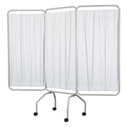 Winco Manufacturing 3 Panel Folding Privacy Screen