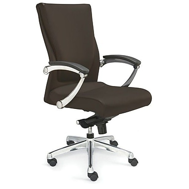 Valo Luxo Leather Executive Chair; Brown