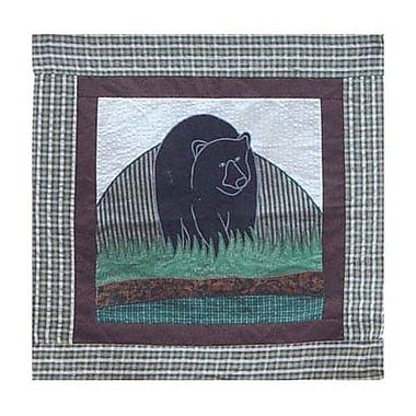 Patch Magic Bear Country Toss Cotton Throw Pillow