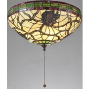 Meyda Tiffany Lodge Tiffany 16'' Glass Bowl Fan Bowl Shade