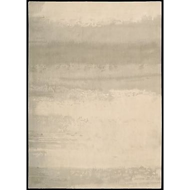 Calvin Klein Rugs Luster Wash Dune Ivory Area Rug; Rectangle 3' x 5'
