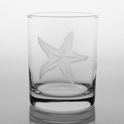 Rolf Glass Starfish Double Old Fashioned Glass