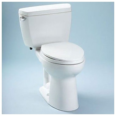Toto Drake 1.6 GPF Elongated Two-Piece Toilet; Left-Hand