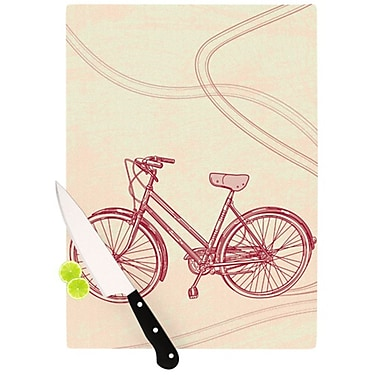 KESS InHouse Bicycle Cutting Board; 11.5'' H x 8.25'' W