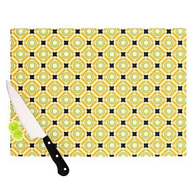 KESS InHouse Tossing Pennies II Cutting Board; 11.5'' H x 15.75'' W x 0.15'' D