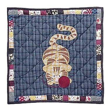 Patch Magic Kitty Cats Cotton Throw Pillow