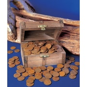 American Coin Treasure Lincoln Wheat Ear Pennies Treasure Chest
