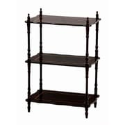 Mega Home 30'' Etagere Bookcase; Cherry