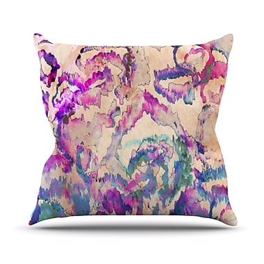 KESS InHouse Weirdi Kat Throw Pillow; 26'' H x 26'' W