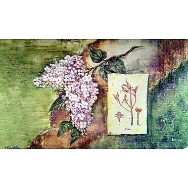 Custom Printed Rugs Lilac Doormat