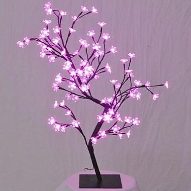 Queens of Christmas Cherry Tree Lighting Bulb; Pink