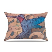 KESS InHouse Aerialism Pillowcase; Standard