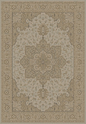 Dynamic Rugs Imperial Faded Taupe Area Rug; Rectangle 6'7'' x 9'6''