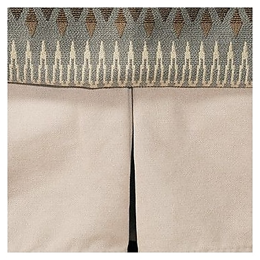 Wooded River Rain Tailored Bedskirt; King