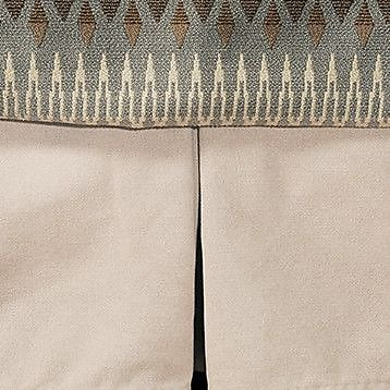 Wooded River Rain Tailored Bedskirt; Queen