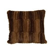 Wooded River Beaver Brown Euro Sham