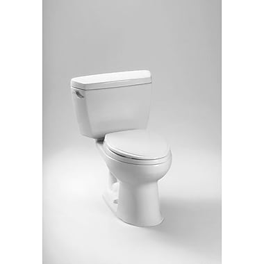 Toto Drake Eco 1.28 GPF Elongated Two-Piece Toilet; Right-Hand
