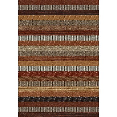 Dynamic Rugs Infinity Brown/Cream Area Rug; 7'10'' x 11'2''