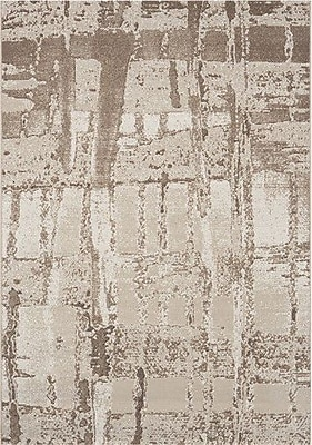 Dynamic Rugs Mysterio Beige Area Rug; Rectangle 7'10'' x 10'10''