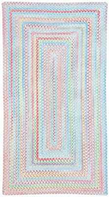 Capel Baby's Breath Bell Kids Area Rug; Concentric 4' x 6'