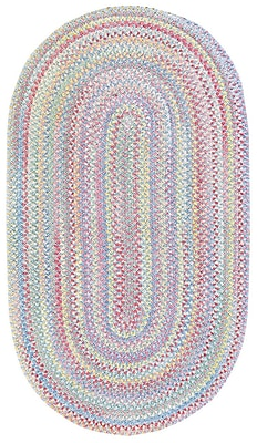 Capel Baby's Breath Bell Kids Area Rug; Oval 2'3'' x 4'