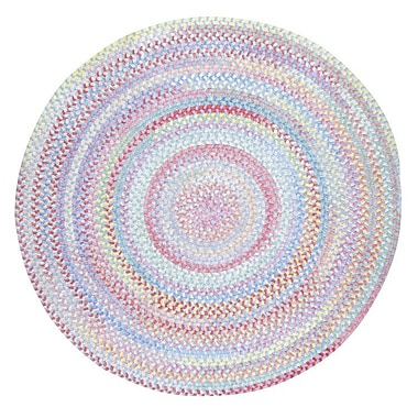 Capel Baby's Breath Bell Kids Area Rug; Round 3'