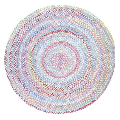 Capel Baby's Breath Bell Kids Area Rug; Round 8'6''