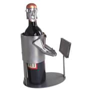 H & K SCULPTURES Video Gamer 1 Bottle Tabletop Wine Rack