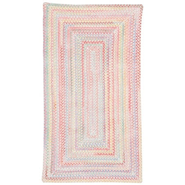 Capel Baby's Breath Pink Area Rug; Concentric 11'4'' x 14'4''