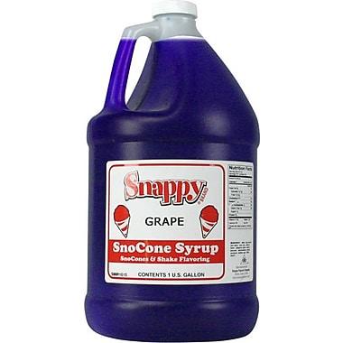 Snappy Popcorn Snow Cone Syrup; Grape