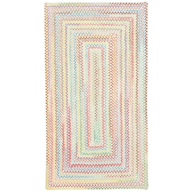 Capel Baby's Breath Lily Kids Area Rug; Concentric 7' x 9'