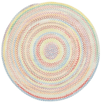 Capel Baby's Breath Lily Kids Area Rug; Round 5'6''