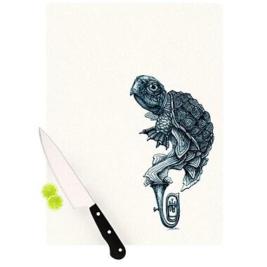 KESS InHouse Turtle Tuba Cutting Board; 11.5'' H x 8.25'' W x 0.25'' D