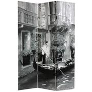 Oriental Furniture 70.88'' x 47.25'' Scenes of Venice 3 Panel Room Divider