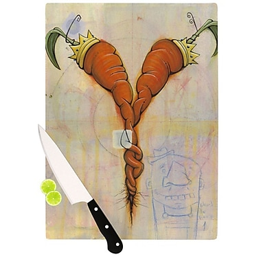 KESS InHouse Never to Forget Cutting Board; 11.5'' H x 15.75'' W