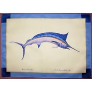 Betsy Drake Interiors Marlin Placemat (Set of 4)