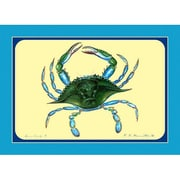 Betsy Drake Interiors Female Crab Placemat (Set of 4)