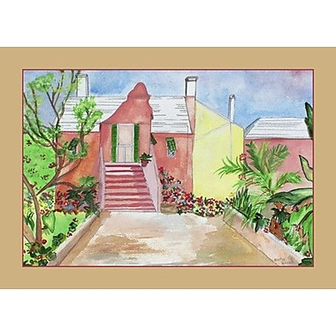 Betsy Drake Interiors House Placemat (Set of 4)