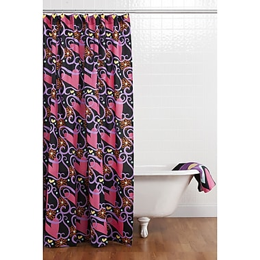 One Grace Place Sassy Shaylee Cotton Shower Curtain