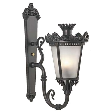 Melissa Tuscany 1-Light Outdoor Sconce; Patina Bronze