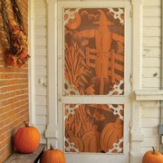 Heritage Lace Scarecrow Indoor/Outdoor Single Curtain Panel