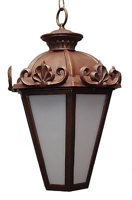 Melissa Parisian Elegance 3-Light Outdoor Hanging Lantern; Old World
