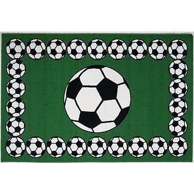 Fun Rugs Fun Time Soccer Time Area Rug; 1'7'' x 2'5''