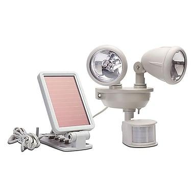 Maxsa Solar Dual Head Security 2-Light LED Spot Light