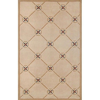 American Home Rug Co. Beach Rug Compass Novelty Rug; 8' x 11'